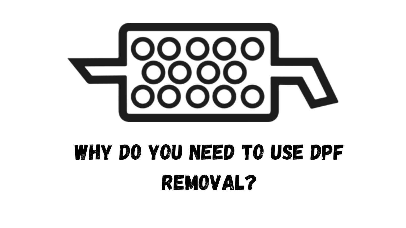 How to remove dpf filter for cleaning